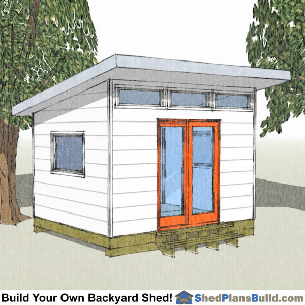 10x12 backyard shed